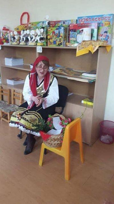 Баба Марта в ДГ121 - ДГ №121 - София, район Нови Искър
